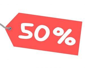 50% Off Storage